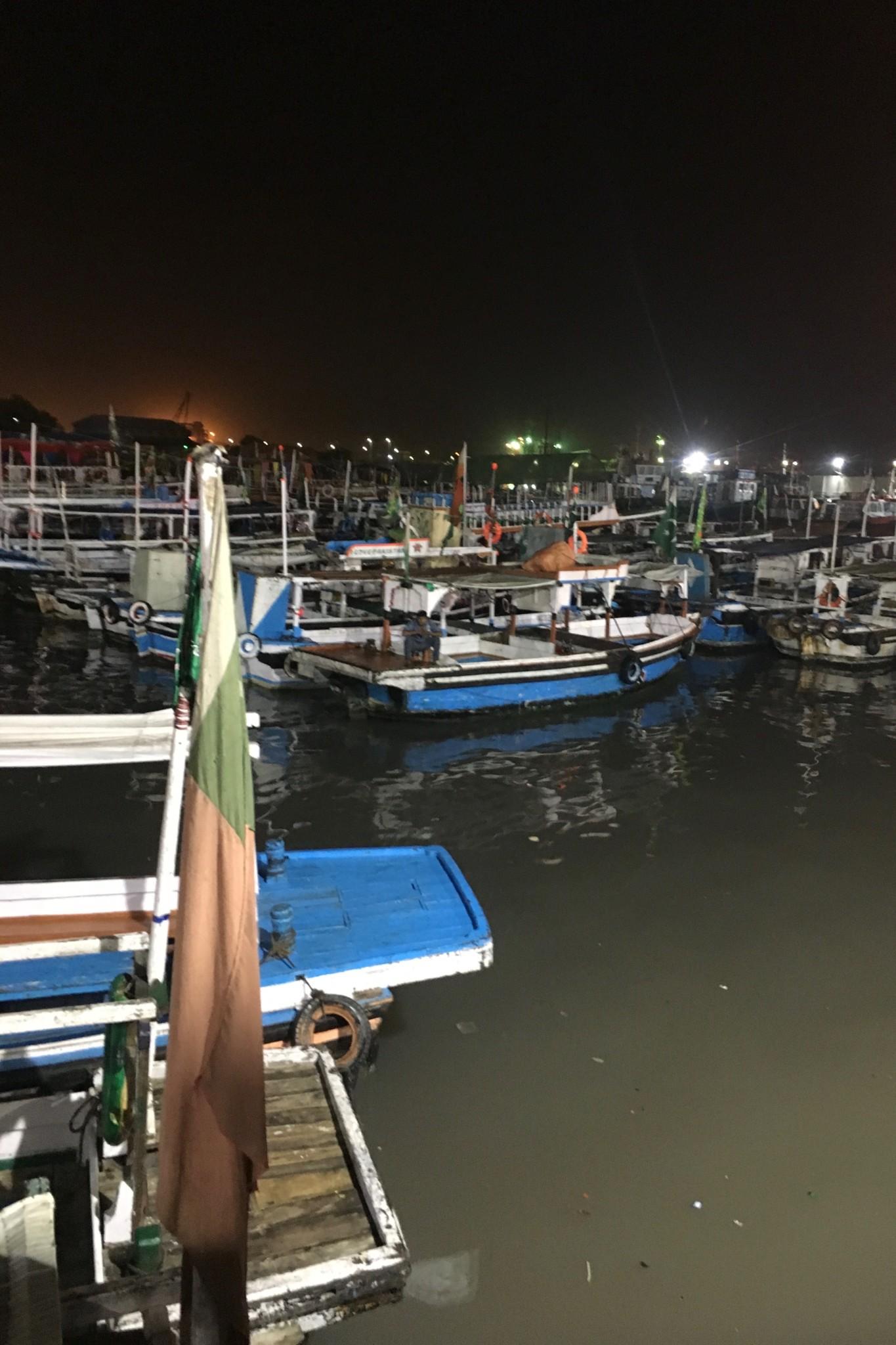 Kemari Harbour Karachi