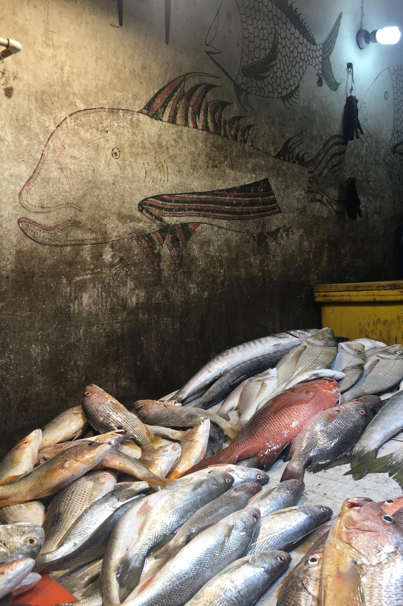 Fischmarkt in Karatschi