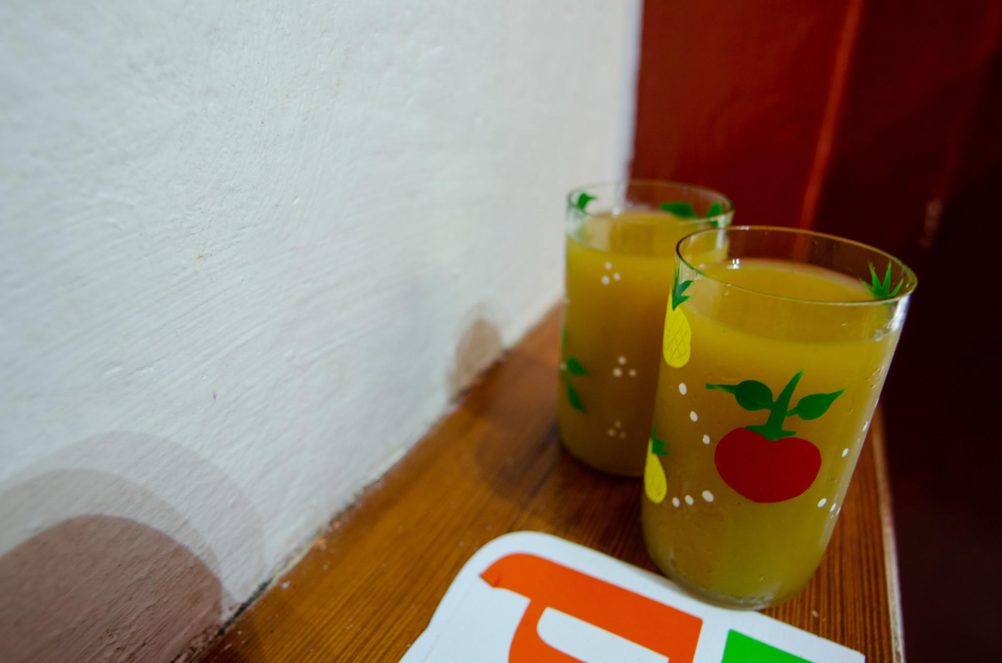 Frischer Saft in Habana Vieja