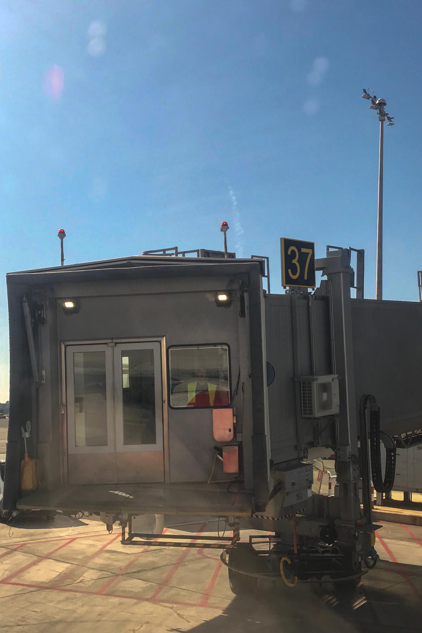 Gangway SAS am Flughafen Stockholm