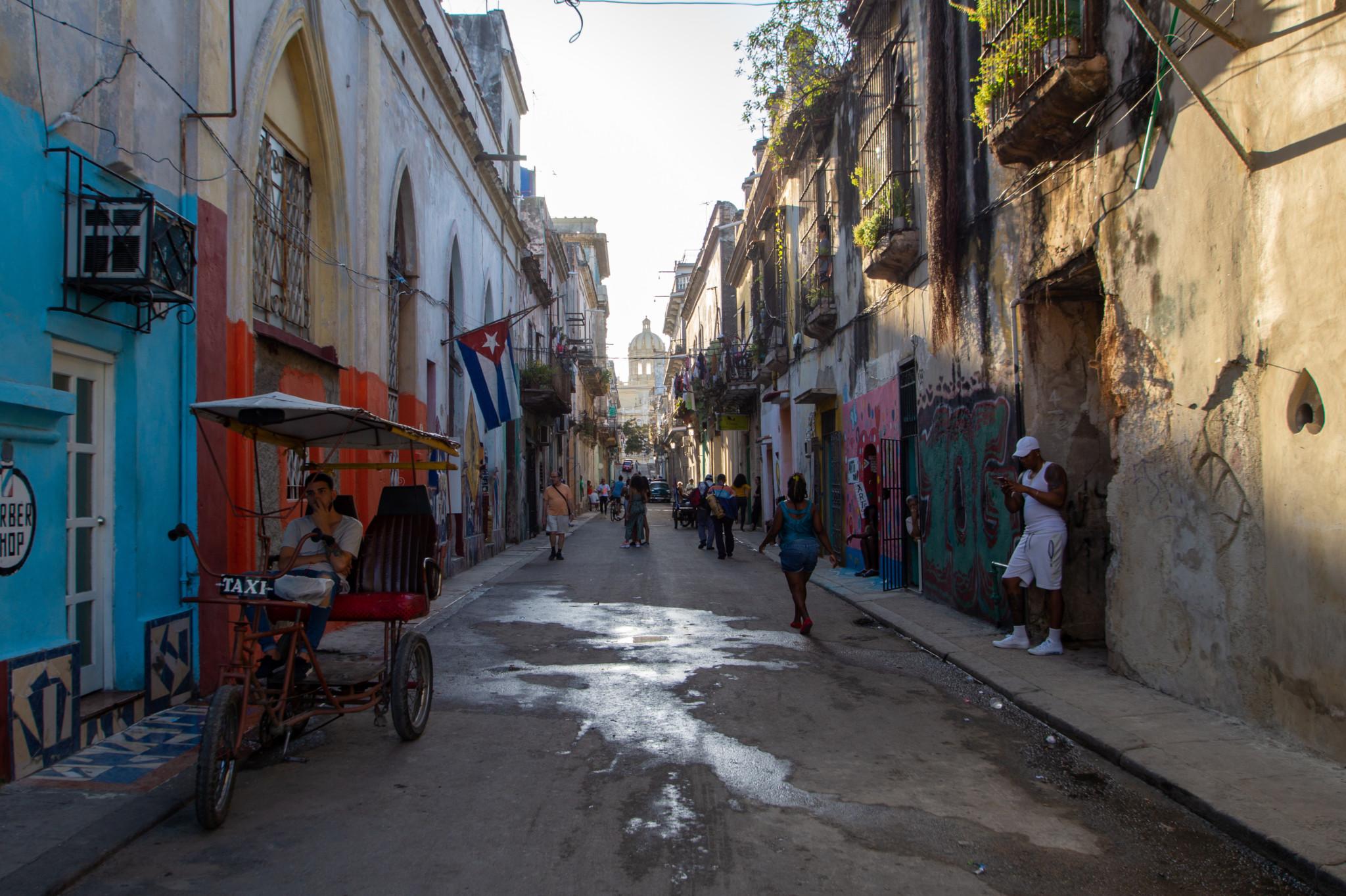 Gasse in Habana Vieja