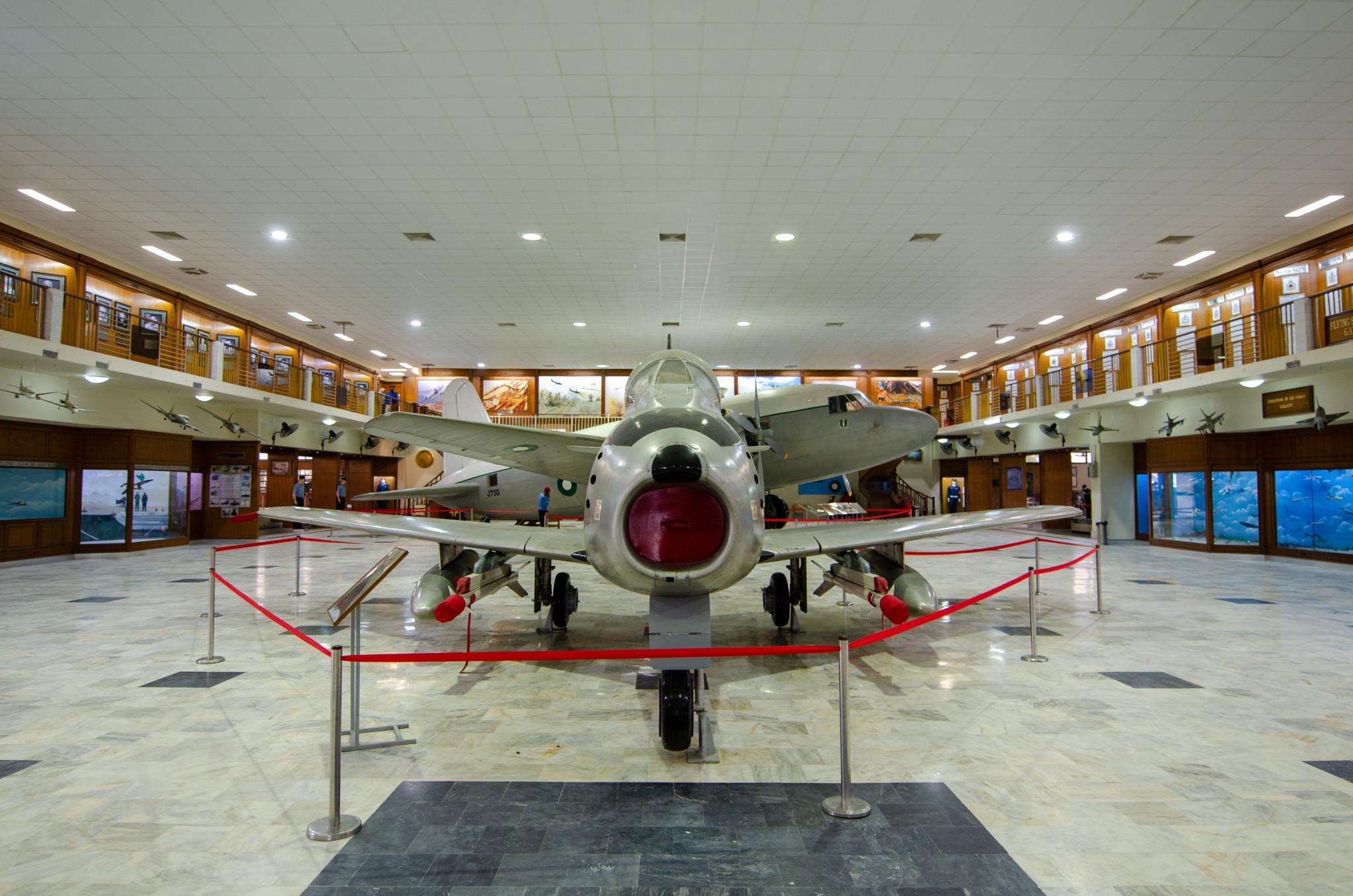 Folland Gnat im Pakistan Air Force Museum