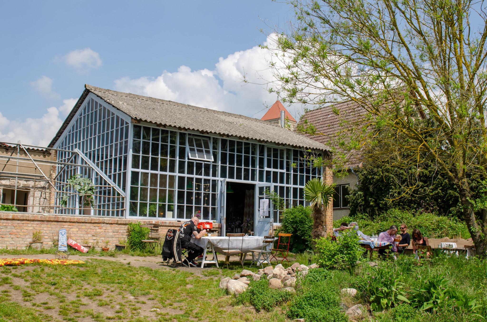 Der Große Garten in Gerswalde