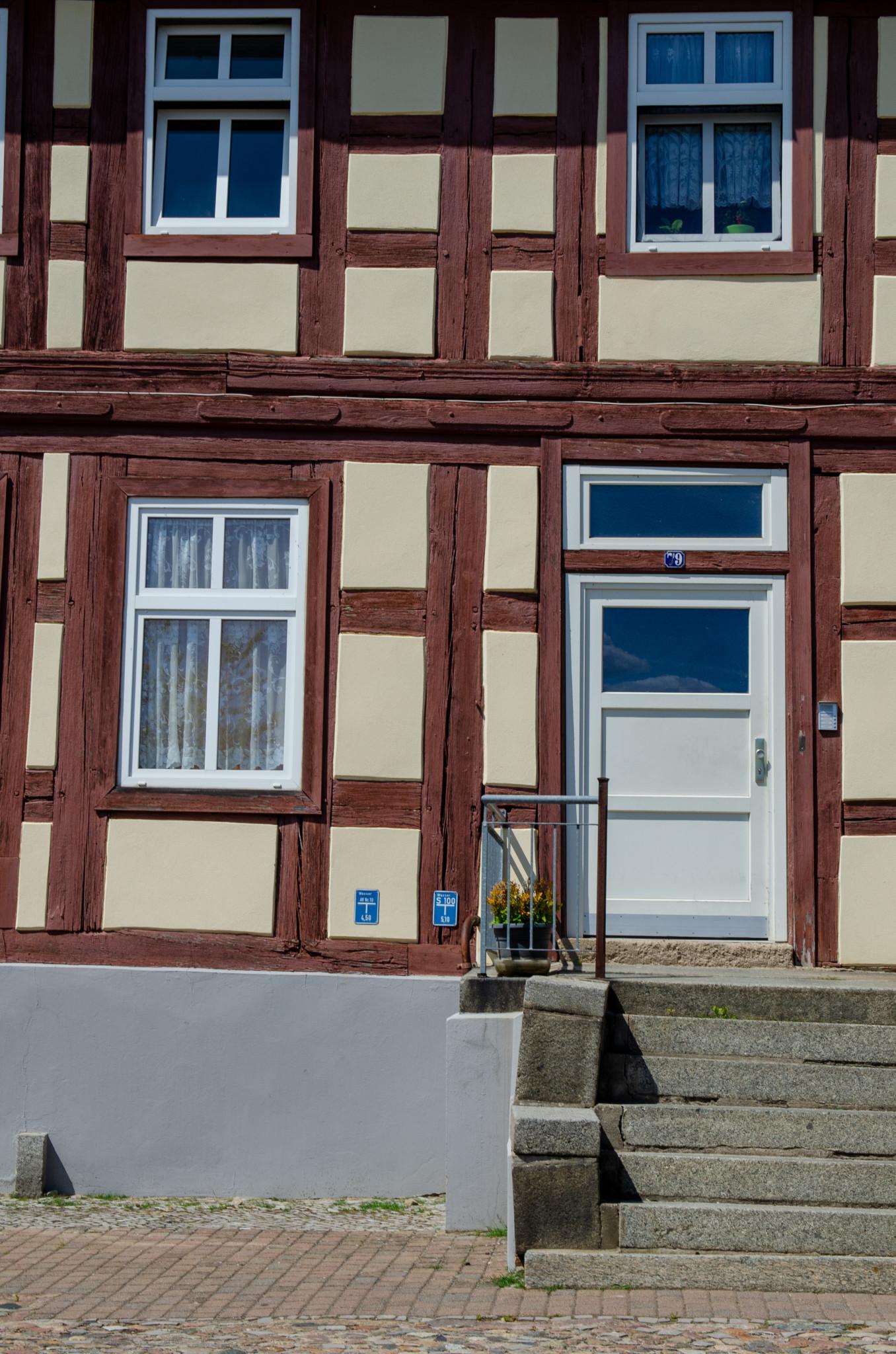 Fachwerkhaus in Oderberg in Brandenburg