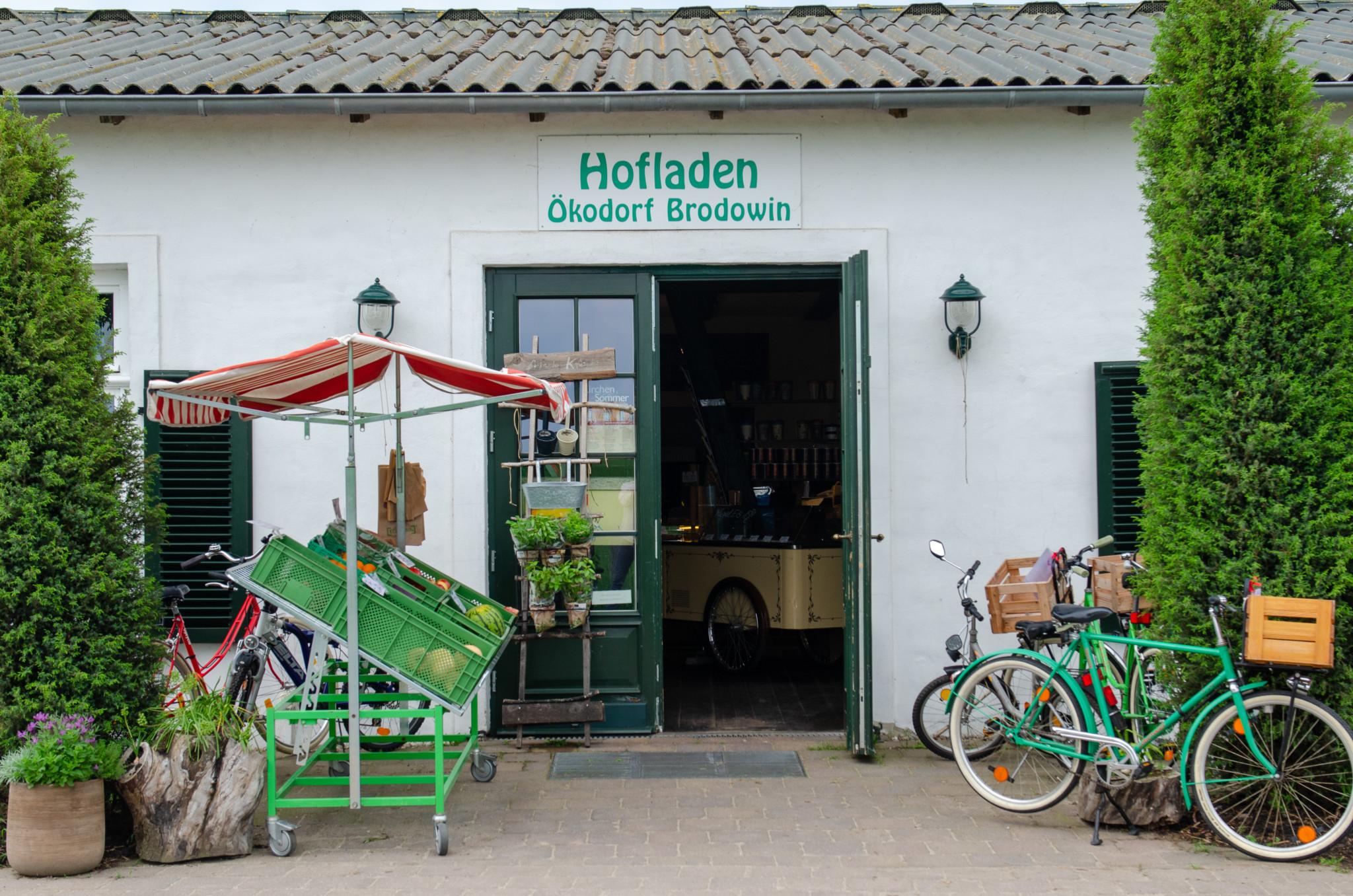 Hofladen im Ökodorf Brodowin