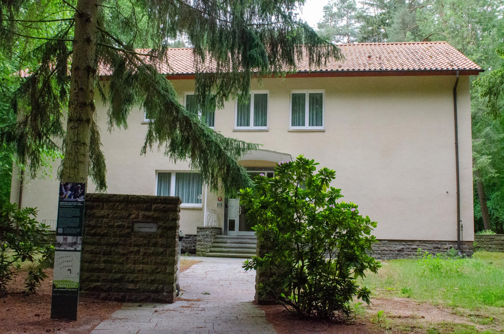 Honeckers Haus kann man in der Waldsiedlung Wandlitz noch sehen