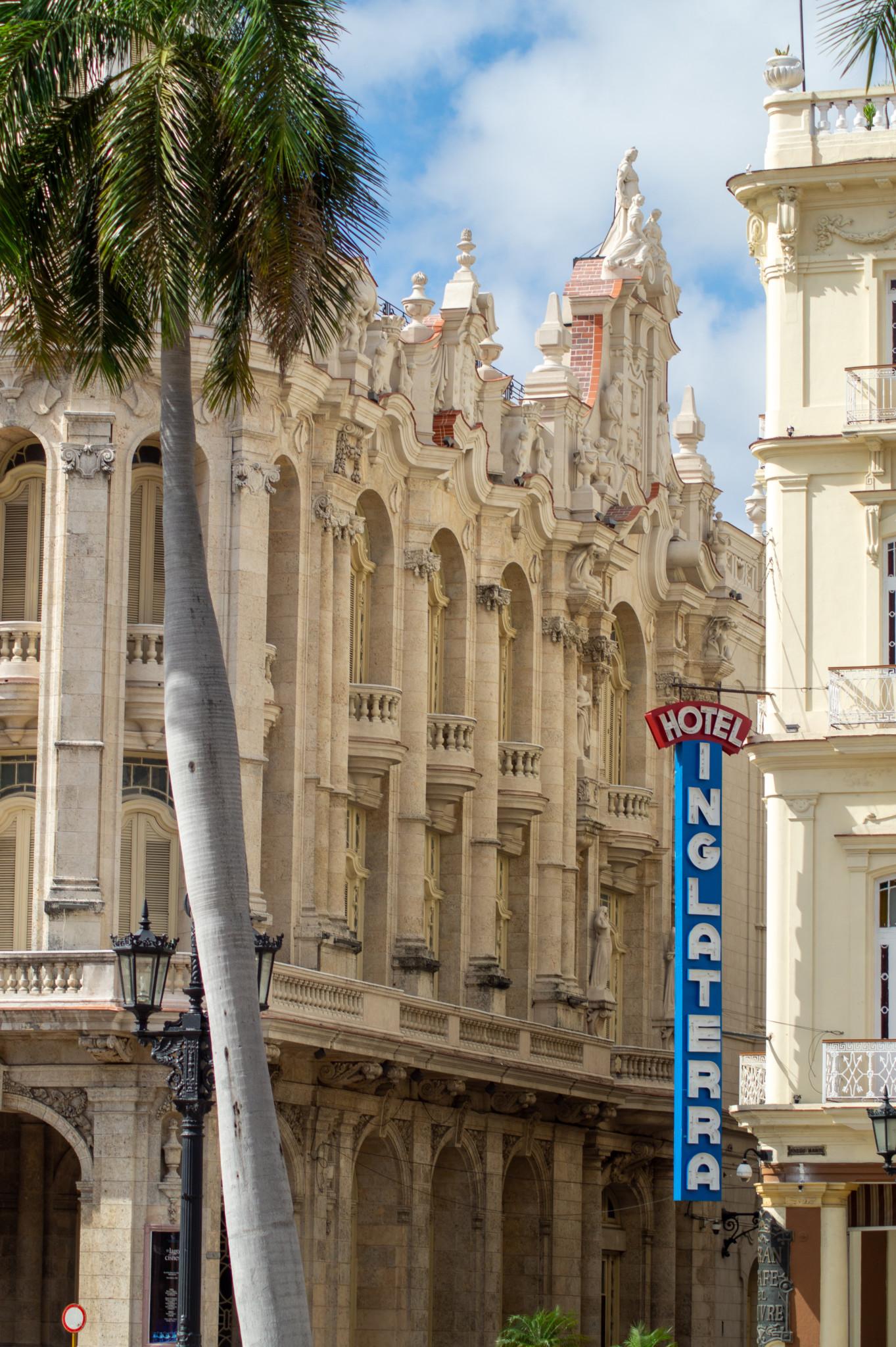 Das Hotel Inglaterra gehört ebenfalls zu den Havanna Sehenswürdigkeiten