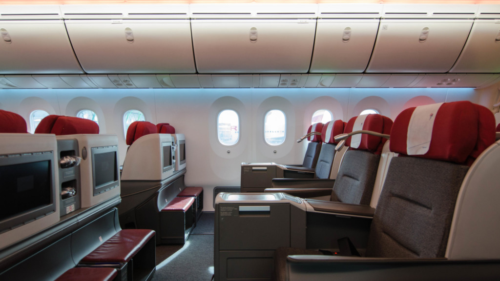 LATAM Business Class im Dreamliner