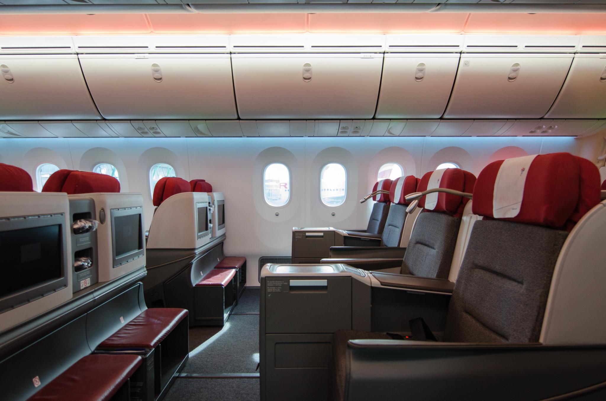 LATAM Business Class im Dreamliner