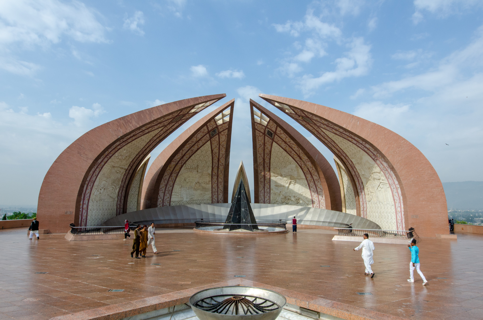 Pakistan Monument in Islamabad Pakistan