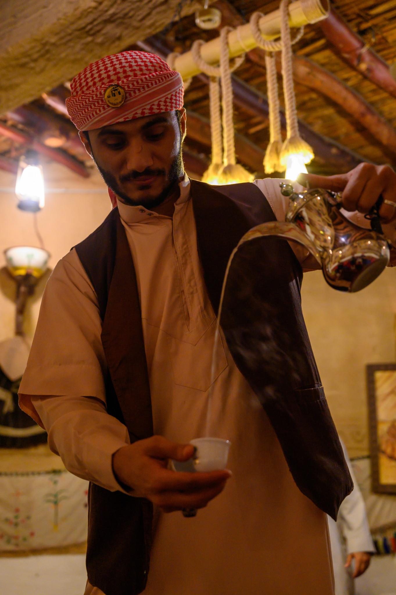 Kaffee gehört zur Tradition in Saudi-Arabien dazu