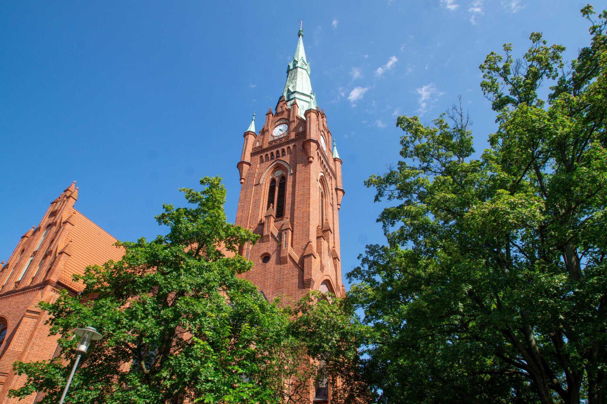 Kirche in Bernau bei Berlin
