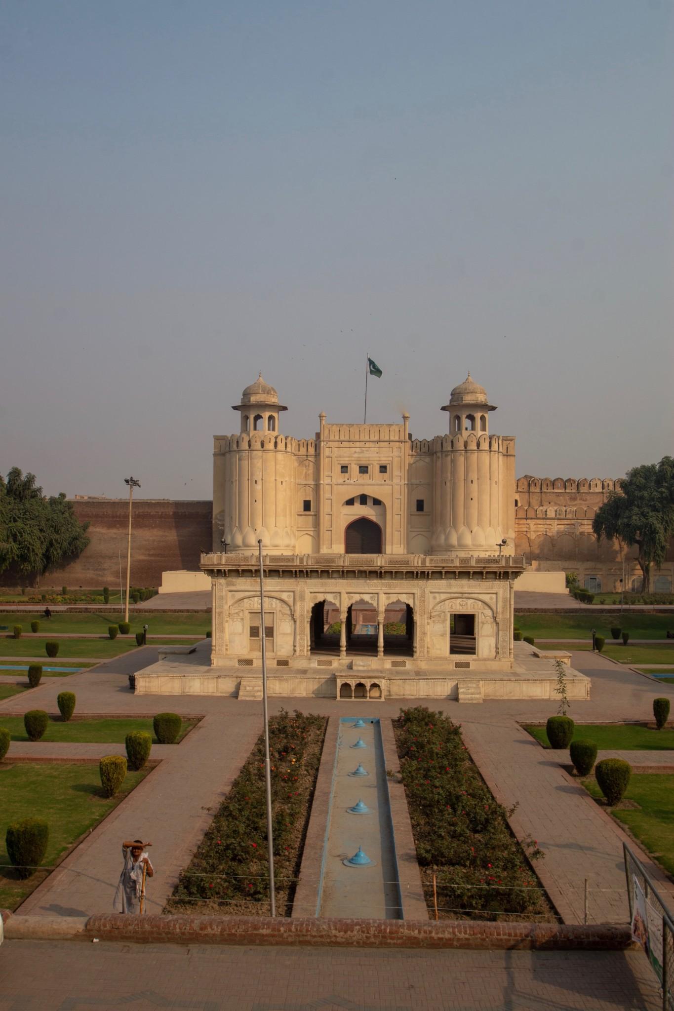 Lahore Fort von Außen