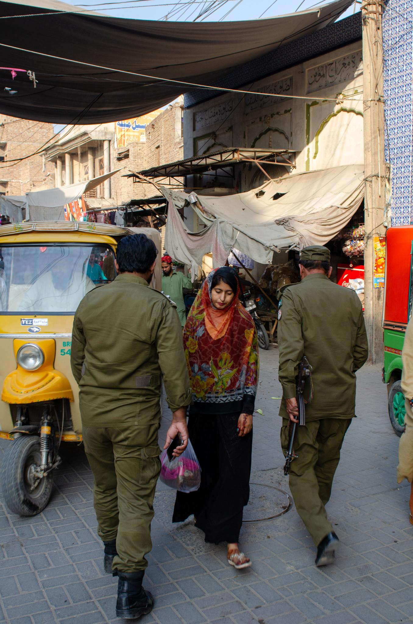 Als Frau in Pakistan