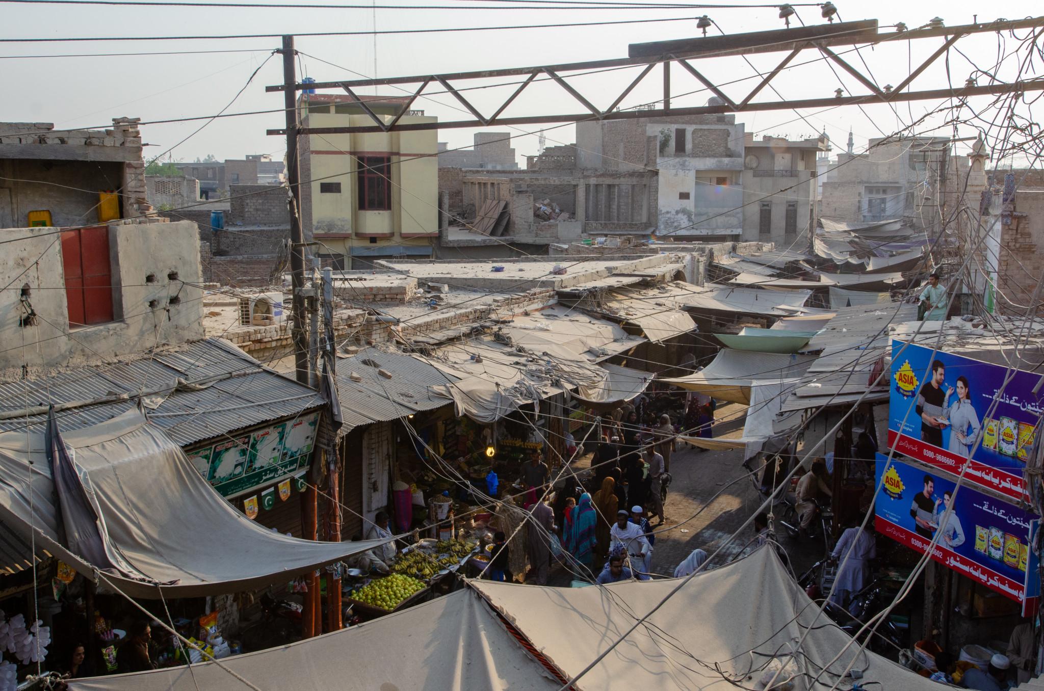 Auf dem Markt von Bahawalpur