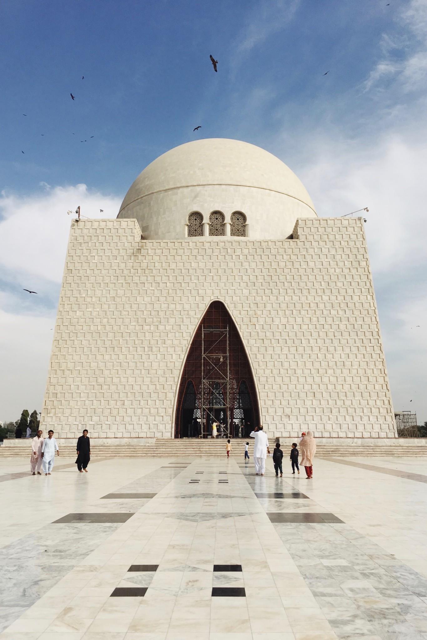 Mazar-e-Quaid Jinnah Mausoleum Karatschi