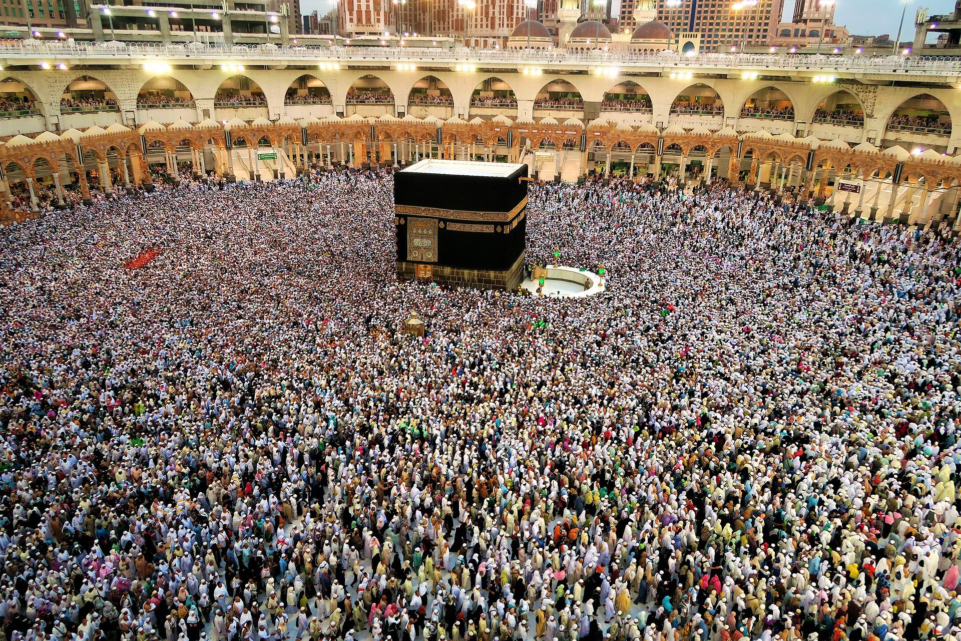 Kabha in Mekka als wichtigste Sehenswürdigkeit in Saudi-Arabien