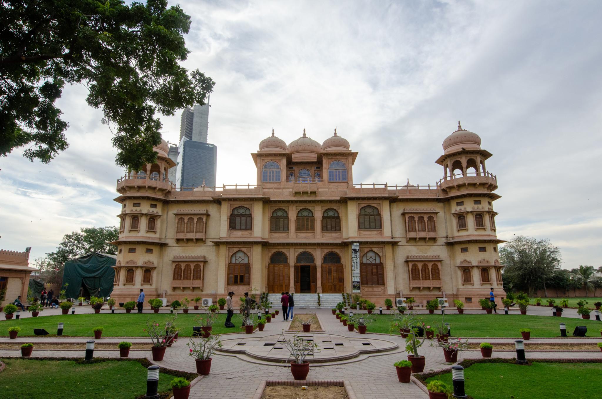 Zu den Sehenswürdigkeiten in Karatschi gehört auch der Mohatta Palast