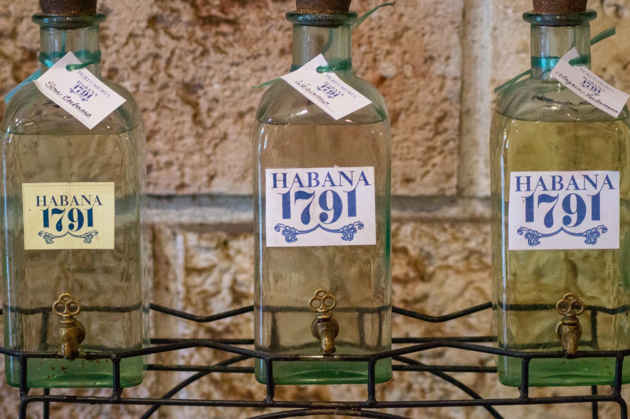Das Habana 1791 ist ein Parfümmuseum in Havanna