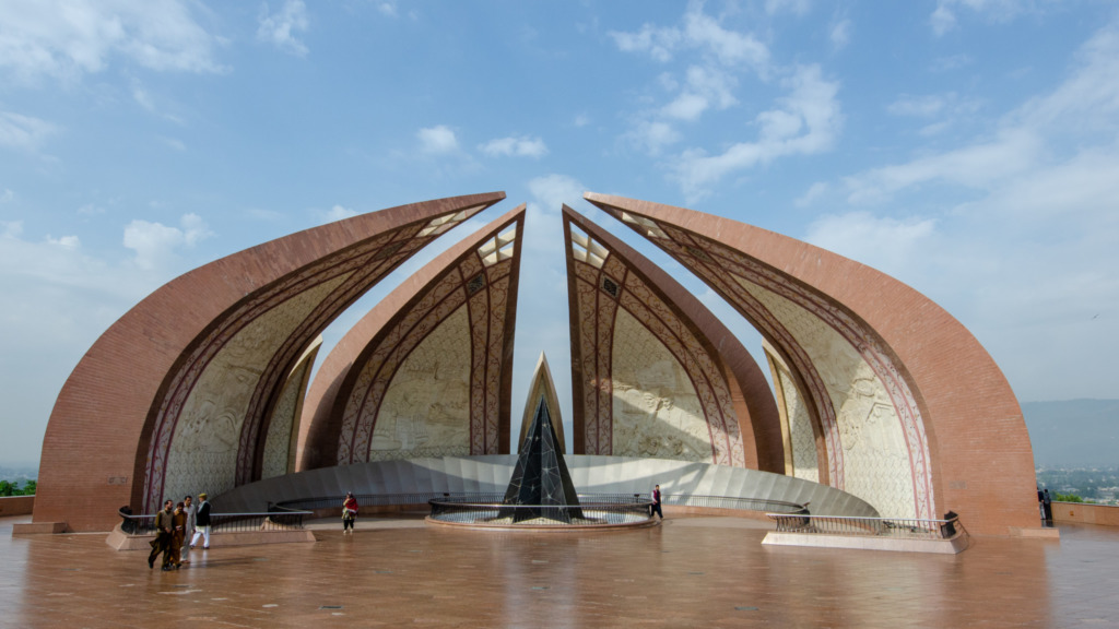 Pakistan Hotels gibt es auch rund um das Pakistan Monument
