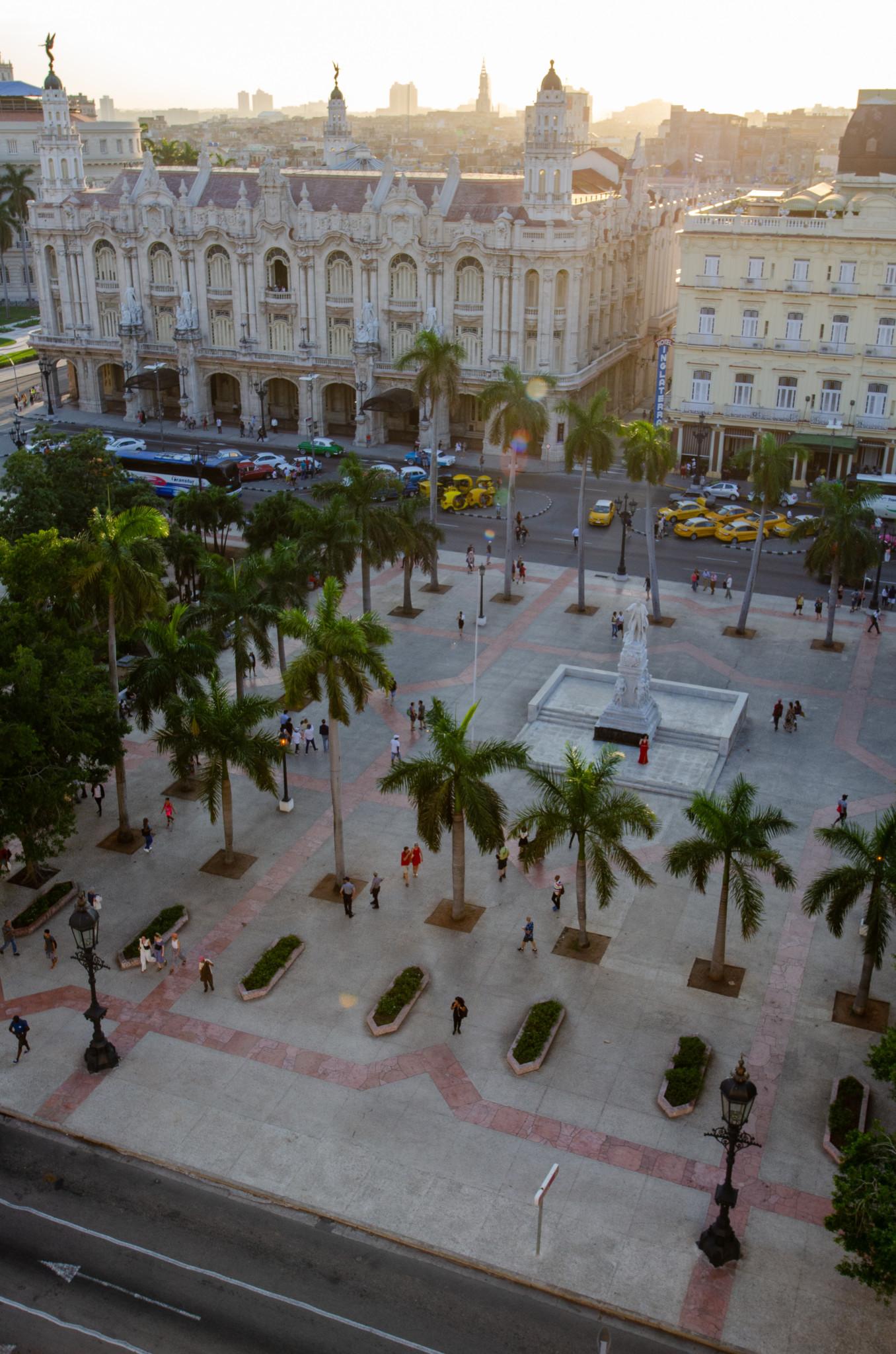 Der Parque Central liegt im Herzen von Habana Vieja