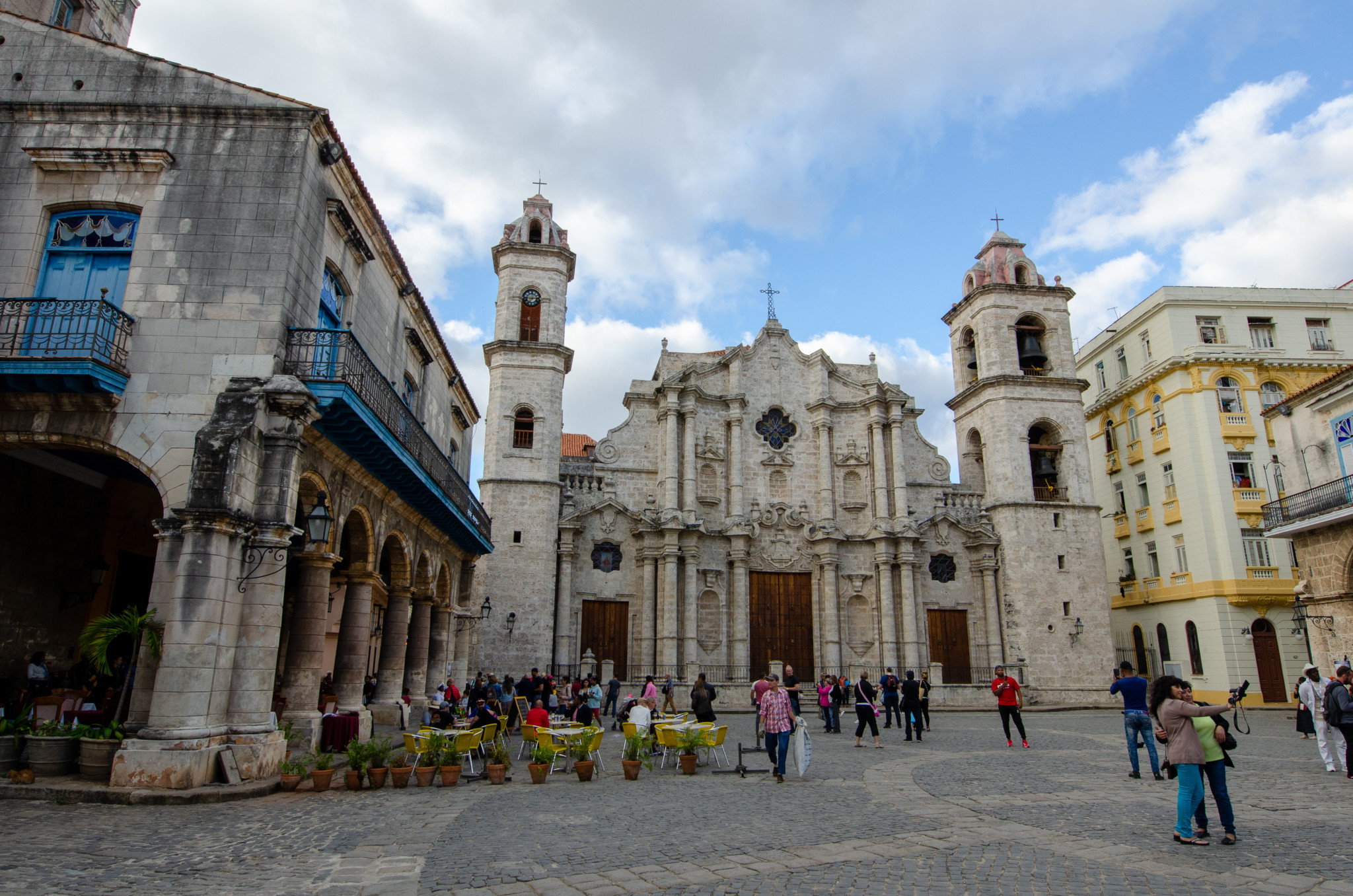 Im Herzen von Habana Vieja liegt der Plaza de la Catedral