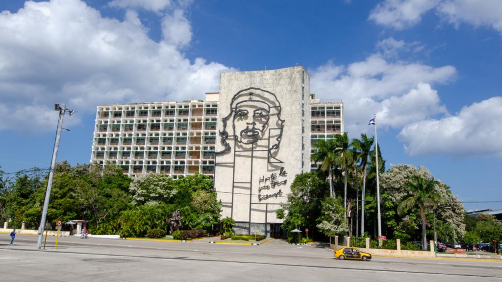 Plaza de la Revolucion in Havanna