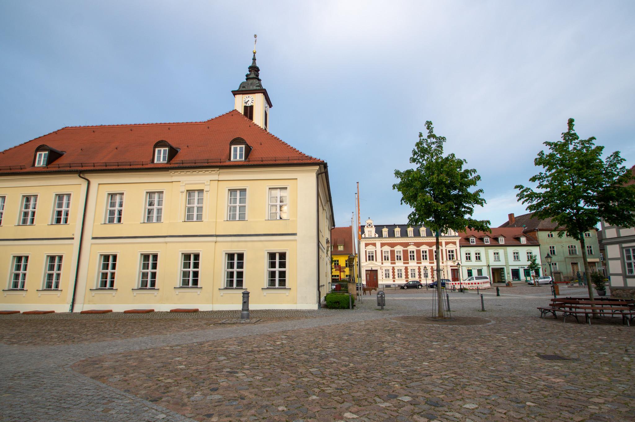 Rathausplatz in Angermünde