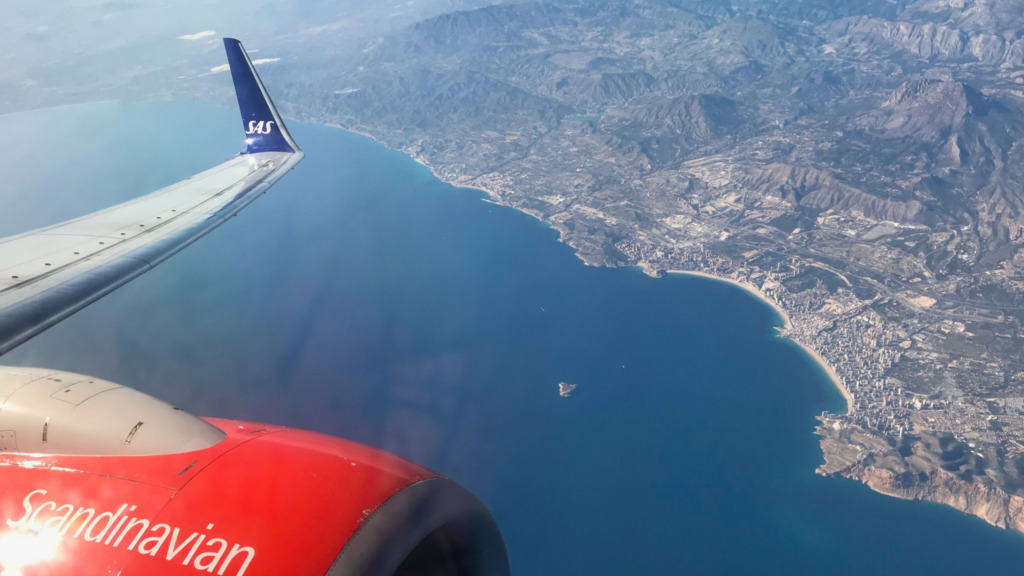 SAS Premium Economy nach Alicante