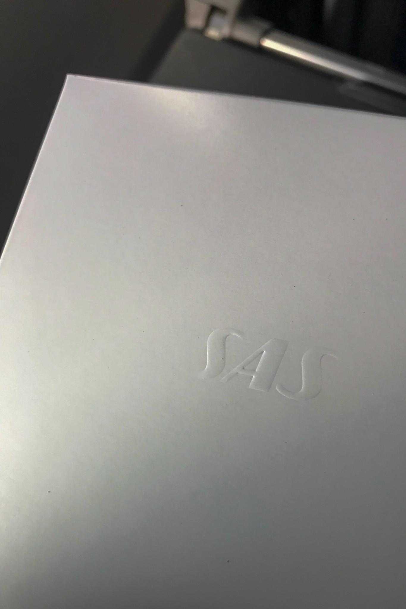 SAS Menü in der Premium Economy