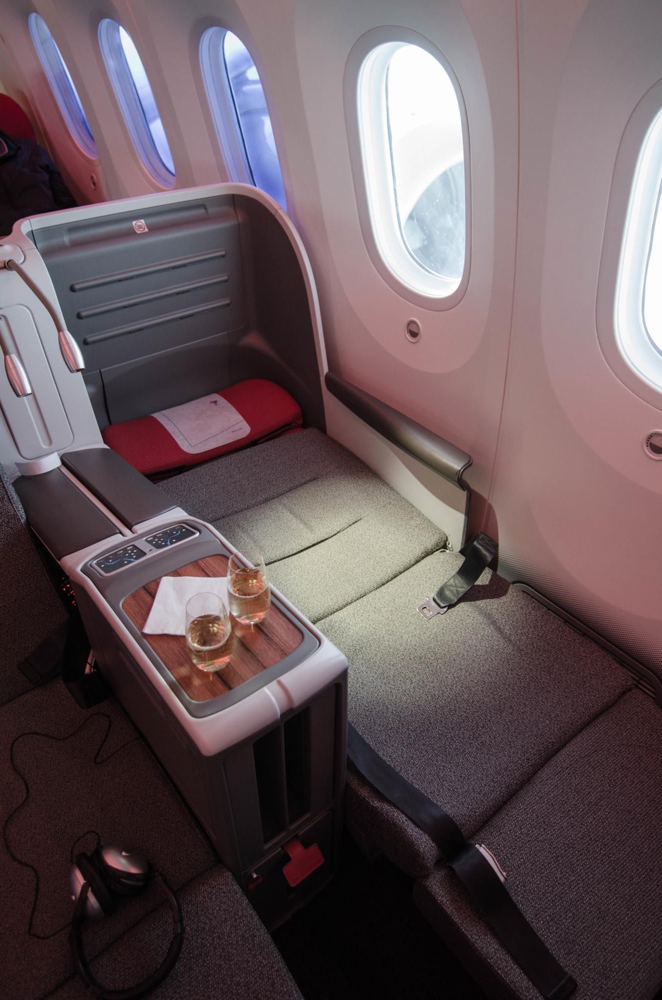 LATAM Business Class bietet Sitze zum Ausklappen