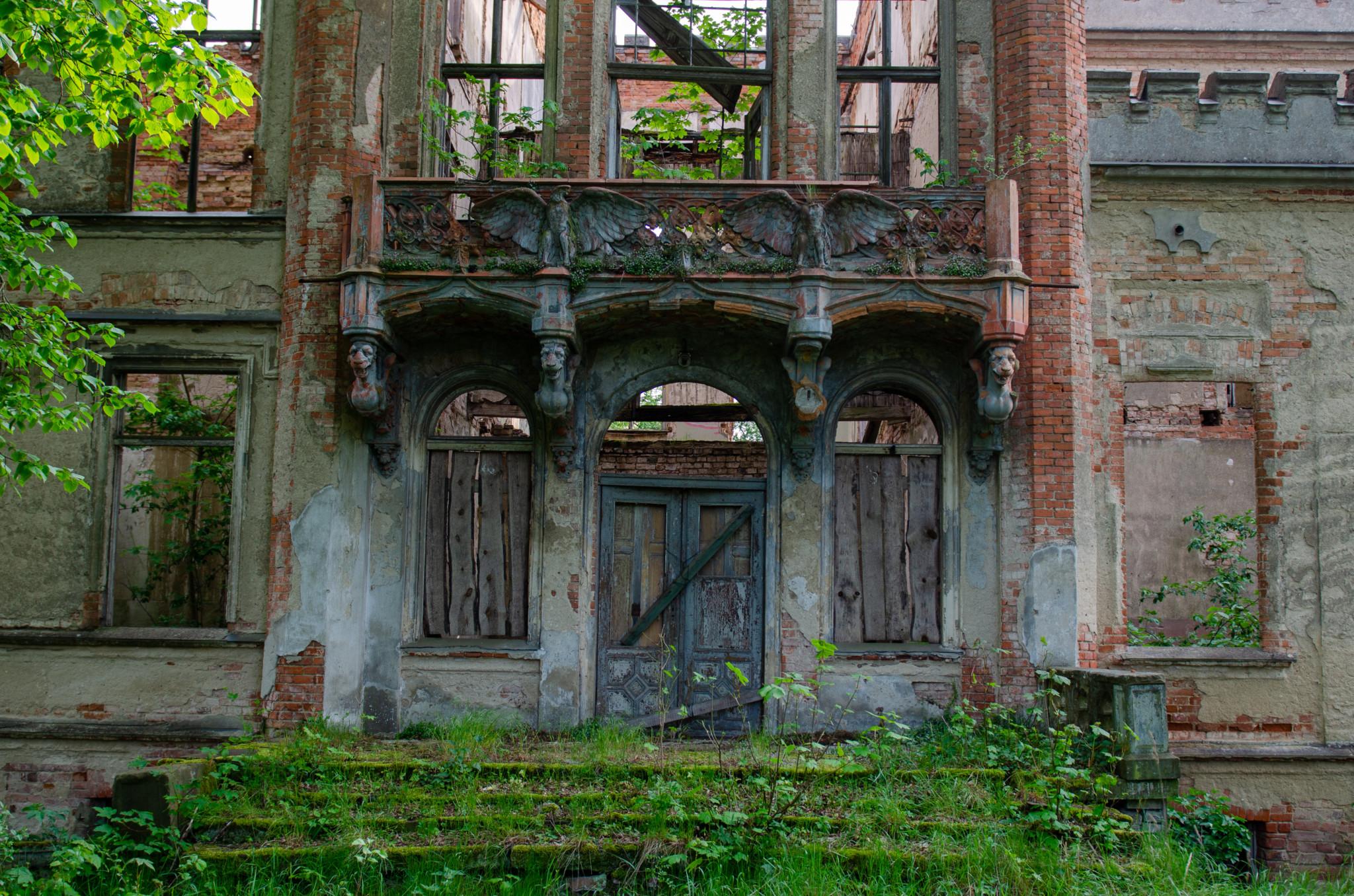 Schlossruine Hohenlandin ist eine wichtige Sehenswürdigkeit in Brandenburg