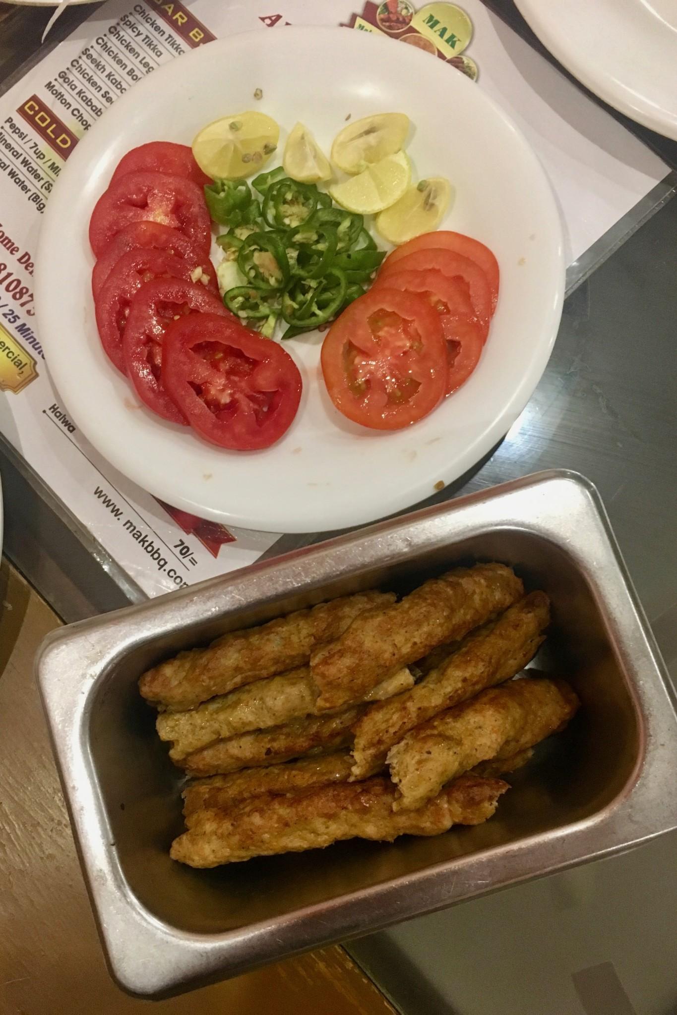 Sheekh Kebab das Nationalgericht von Karatschi