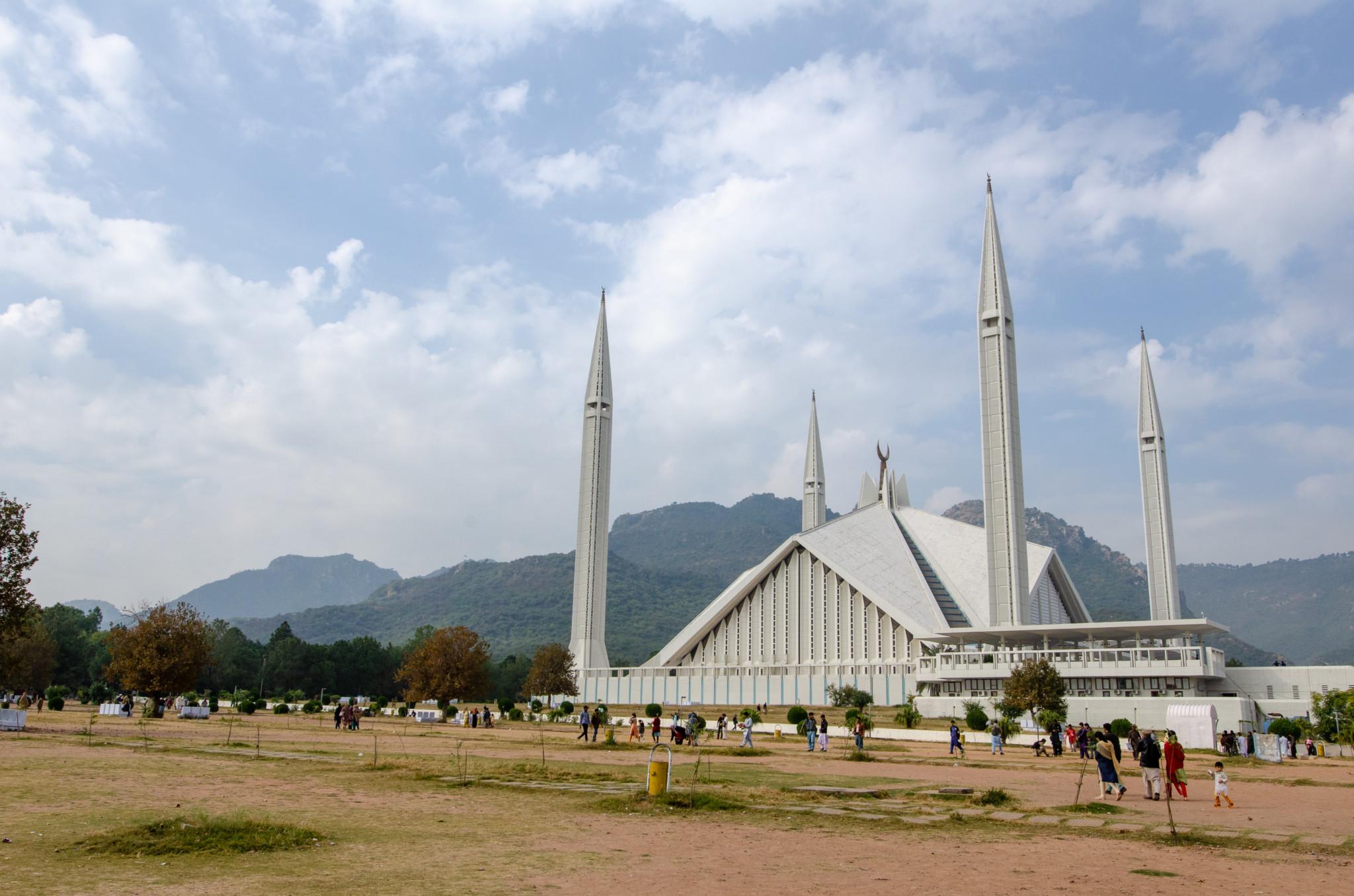 Faisal Moschee in Islamabad