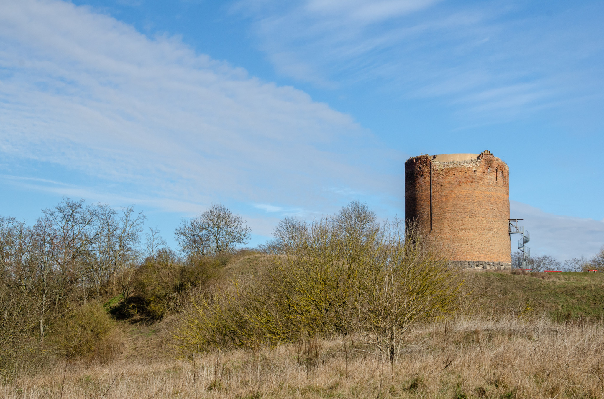 Stolpe Turm in Stützkow in der Uckermark