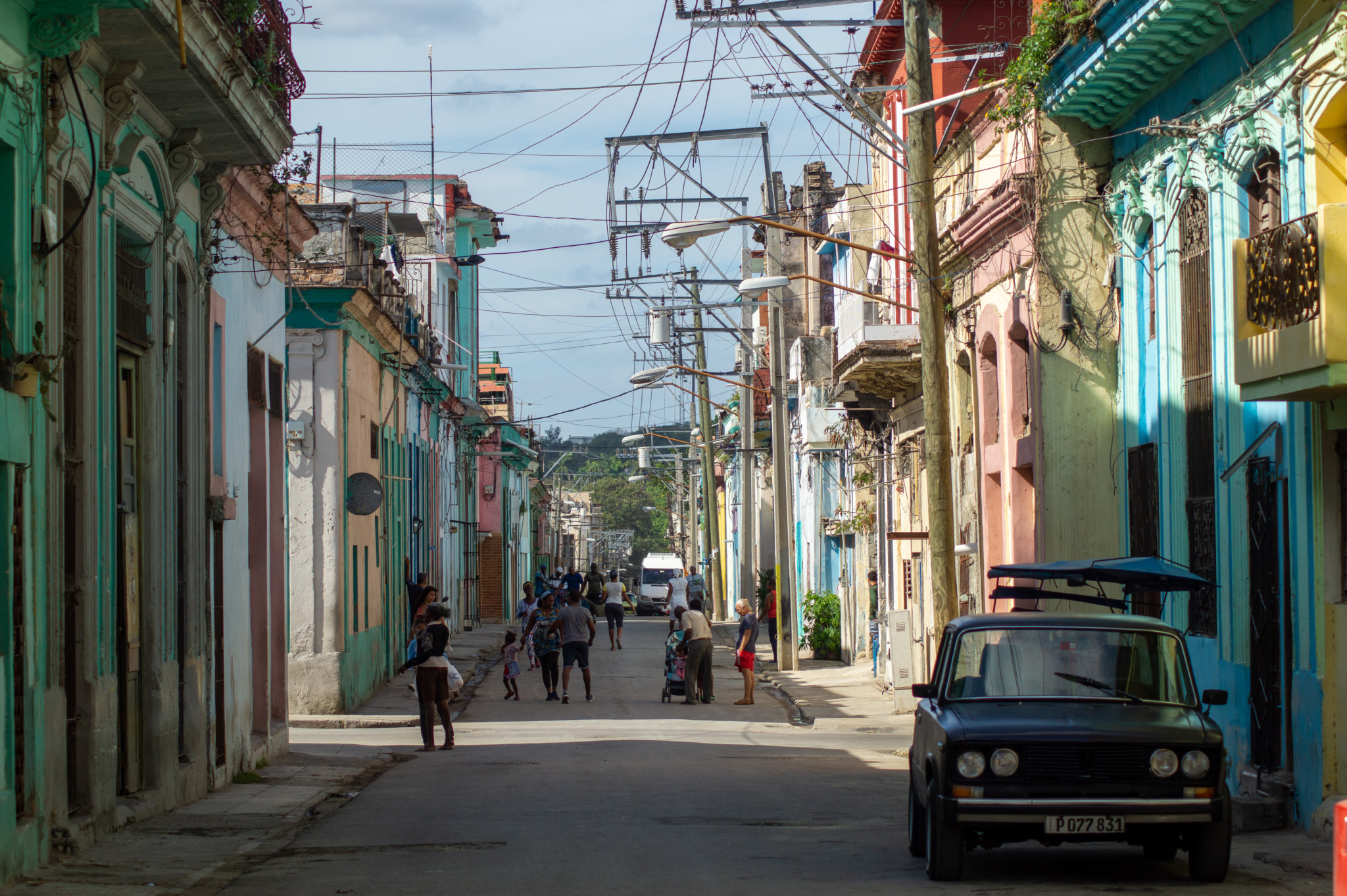 Strassenszene in Havanna