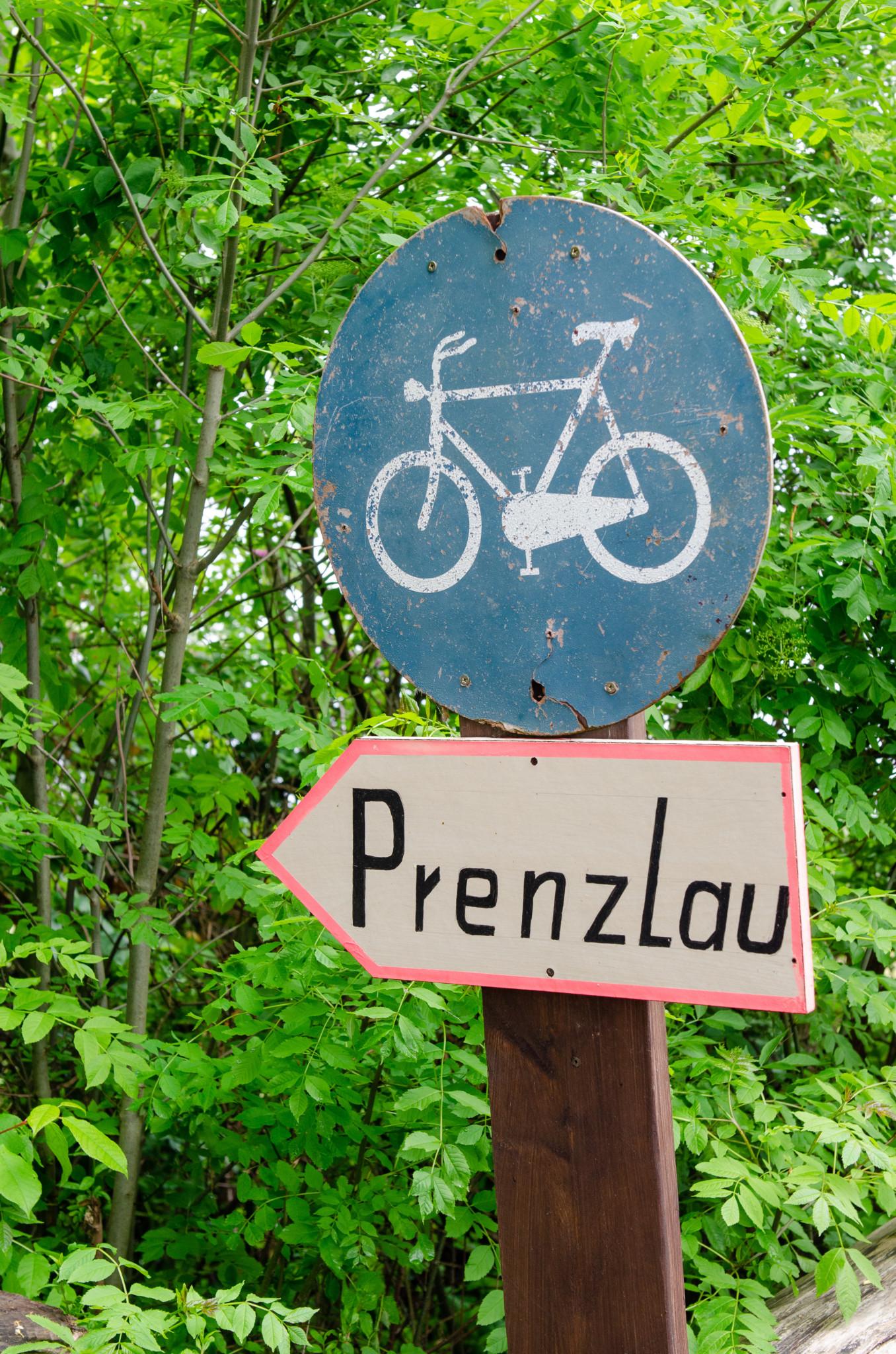 Radwege in der Uckermark gibt es überall