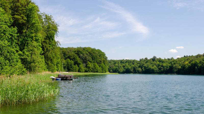 Die Uckermark hat unzählige Seen