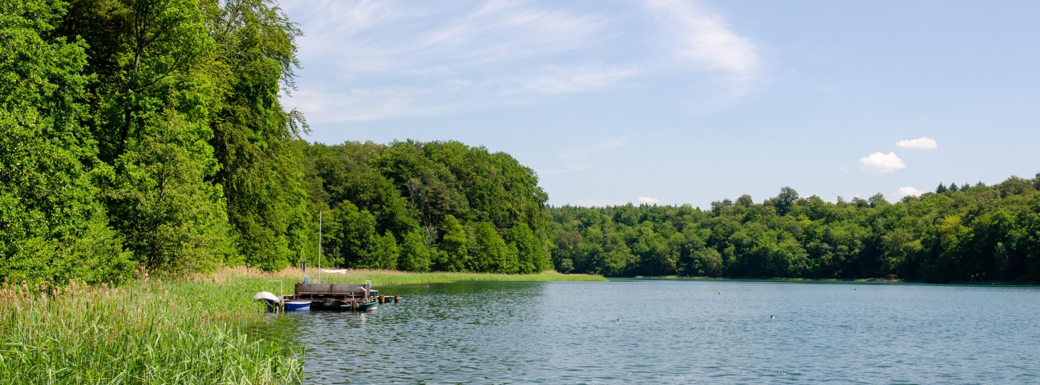 Seen sind typisch für die Uckermark