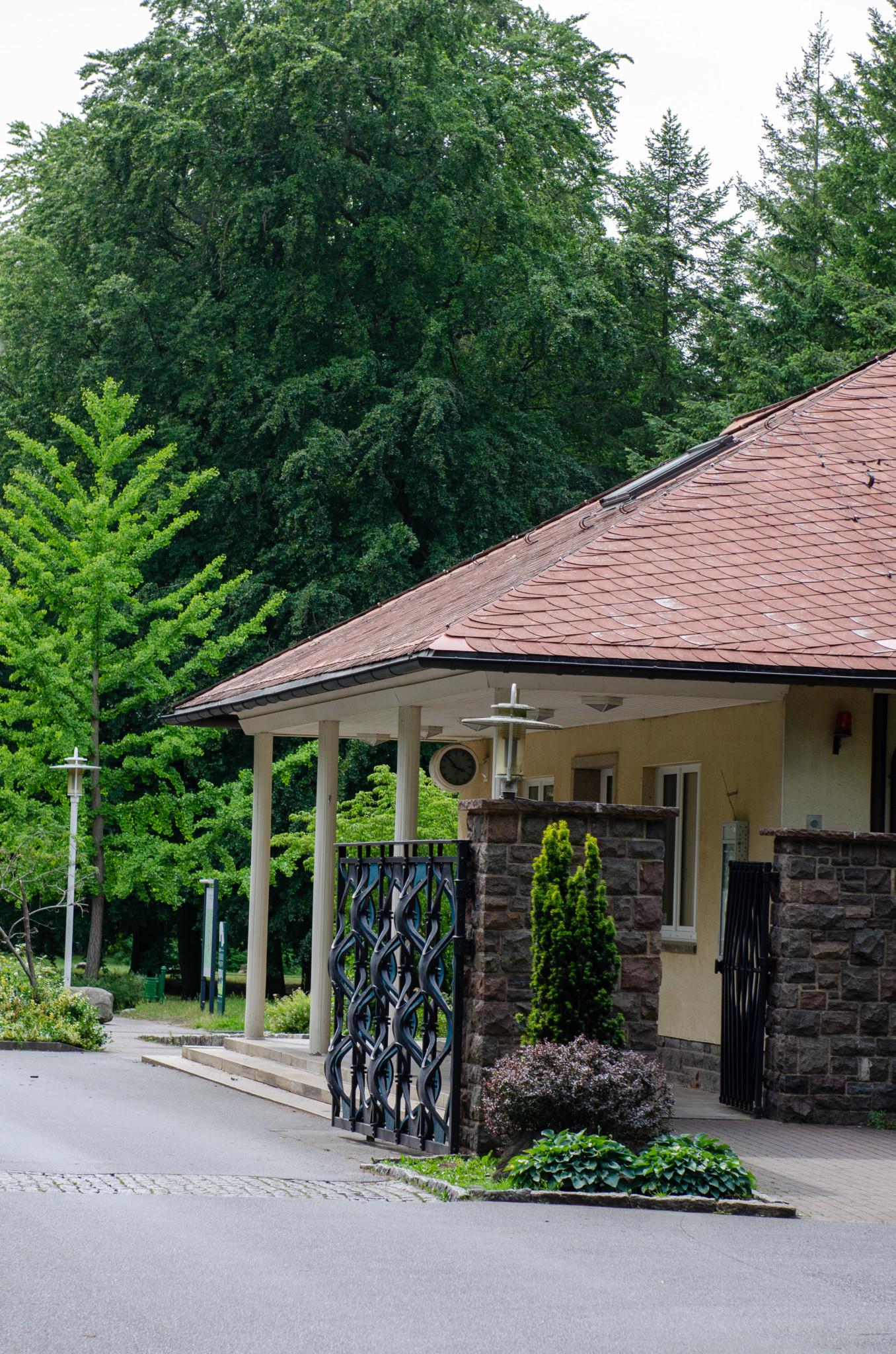 Eingang zur Waldsiedlung Wandlitz