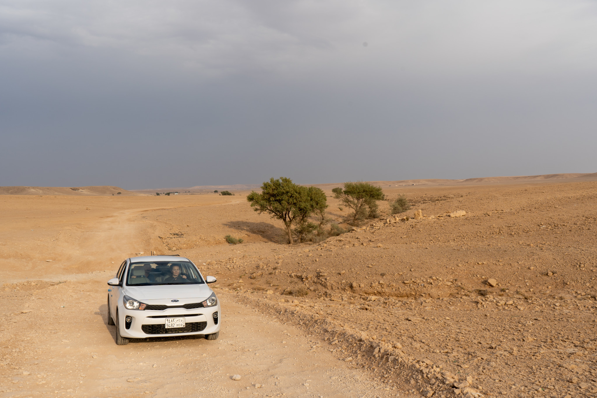 Mit dem Auto zum Edge of the World in Saudi-Arabien