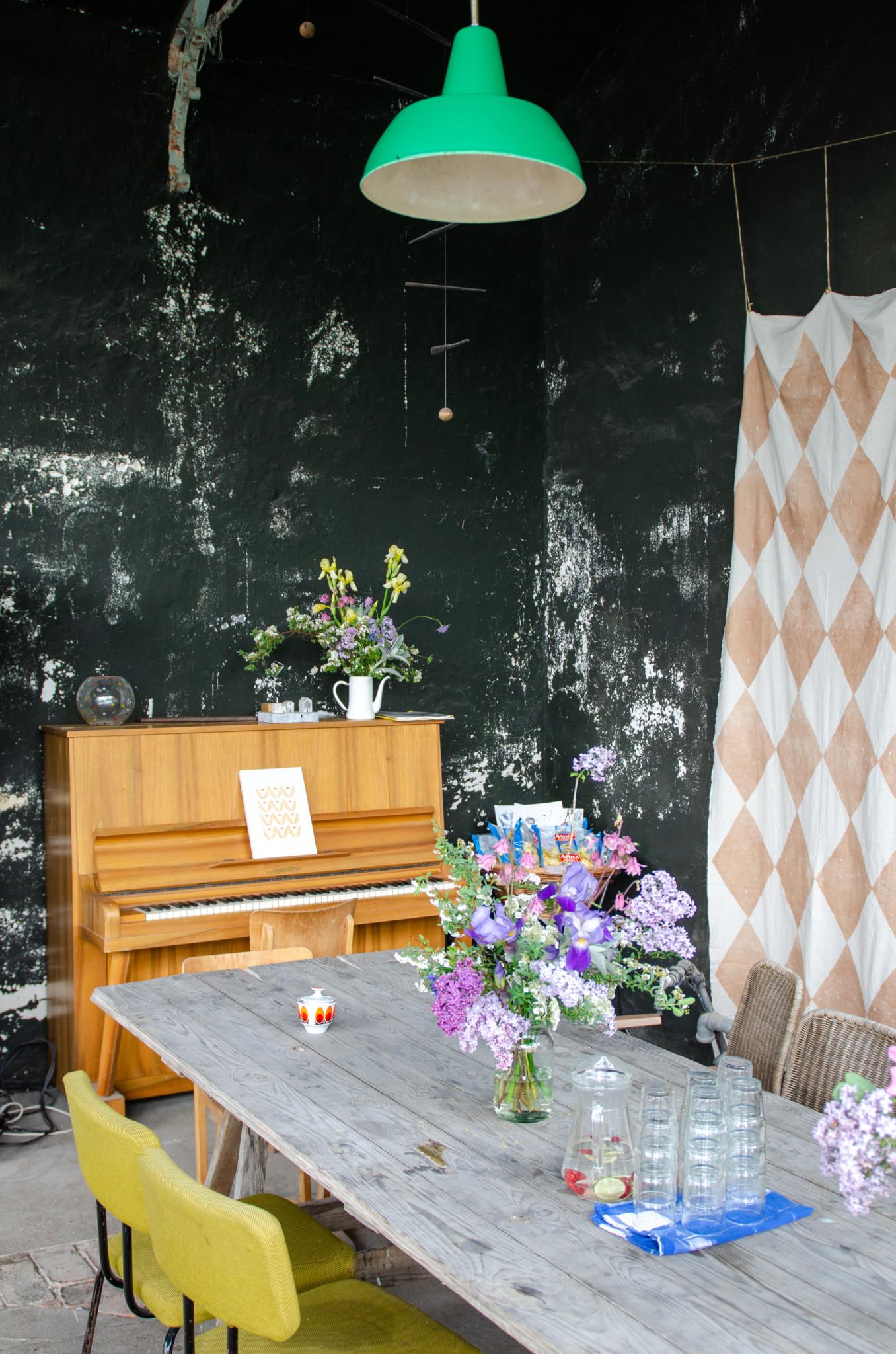 Großer Garten Café Zum Löwen in Gerswalde