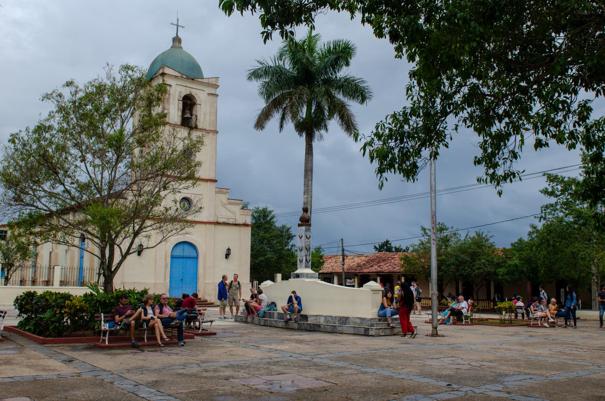 Iglesia Vinales im Stadtzentrum