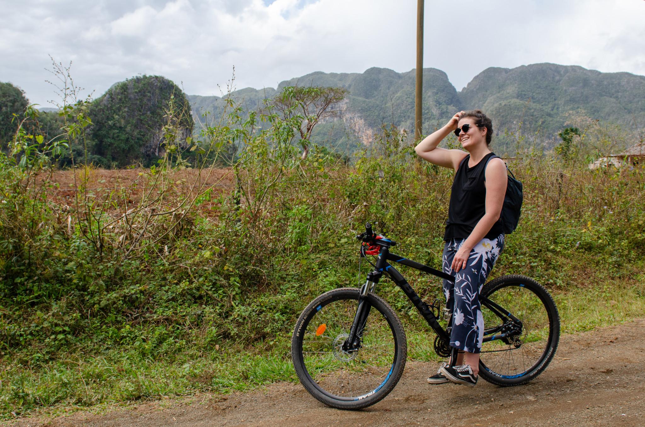 Radtour durch das Valle de Vinales
