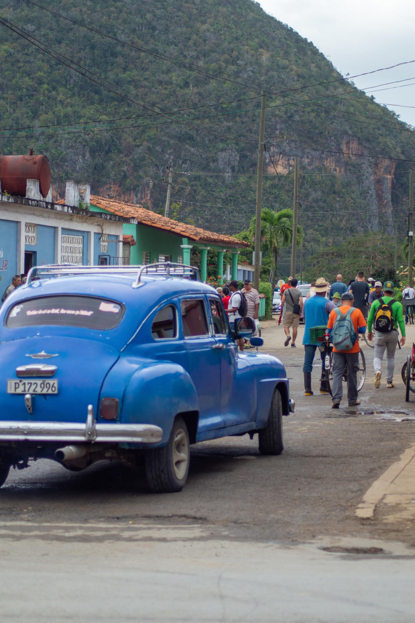 Im Collectivo von Vinales nach Havanna