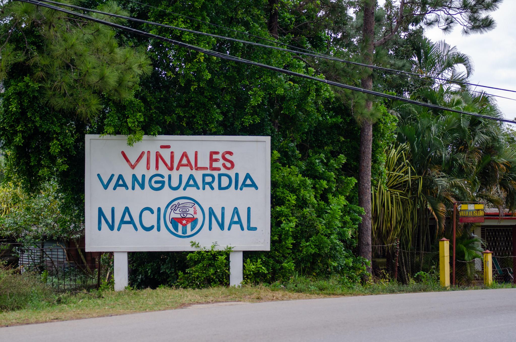 Ortseingang Vinales