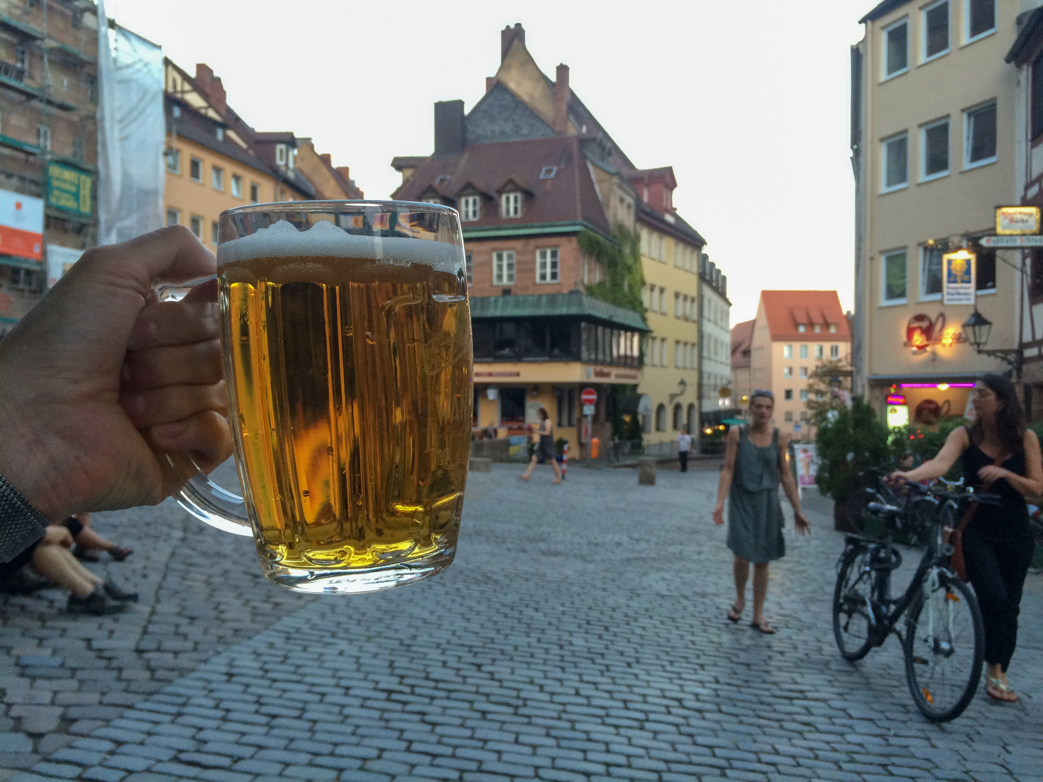 Von gutem Bier wimmelt es in Nürnberg