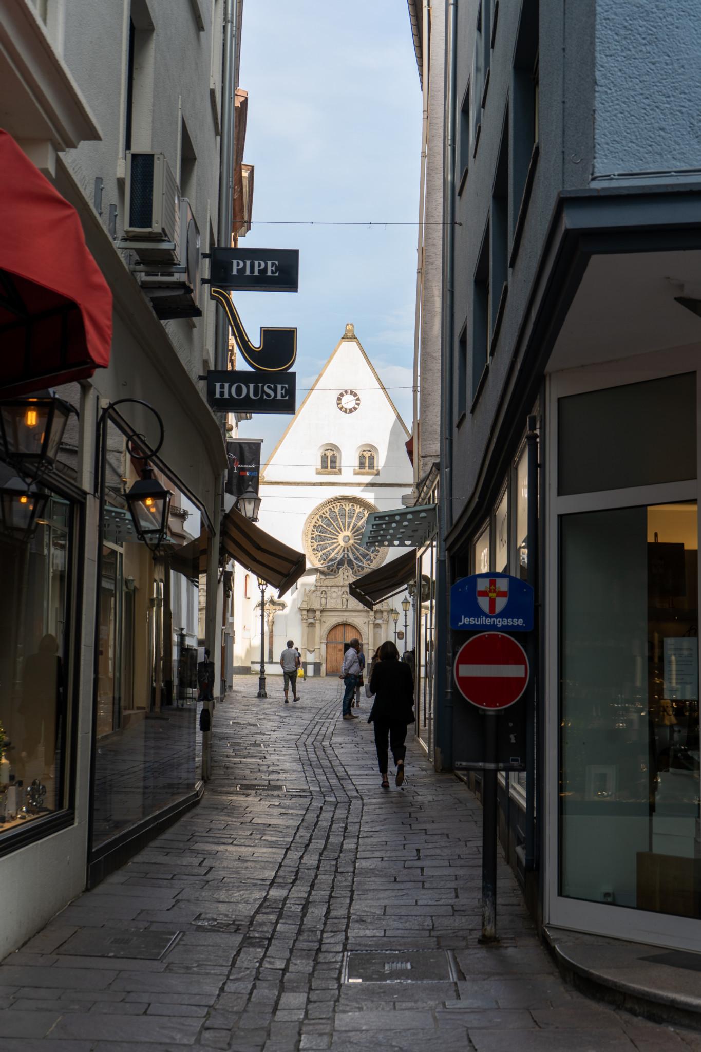 Die schöne Altstadt von Koblenz