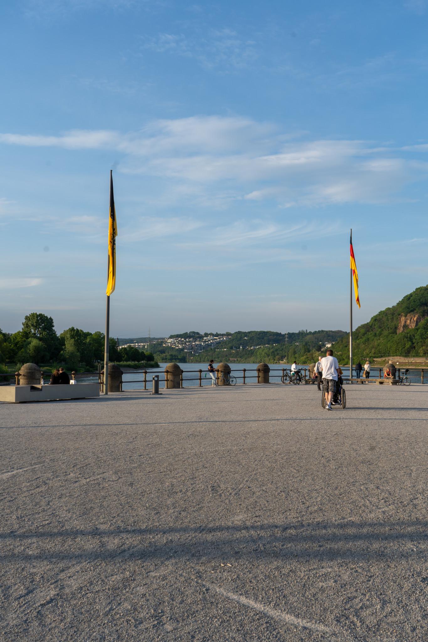 Aussicht vom Deutschen Eck