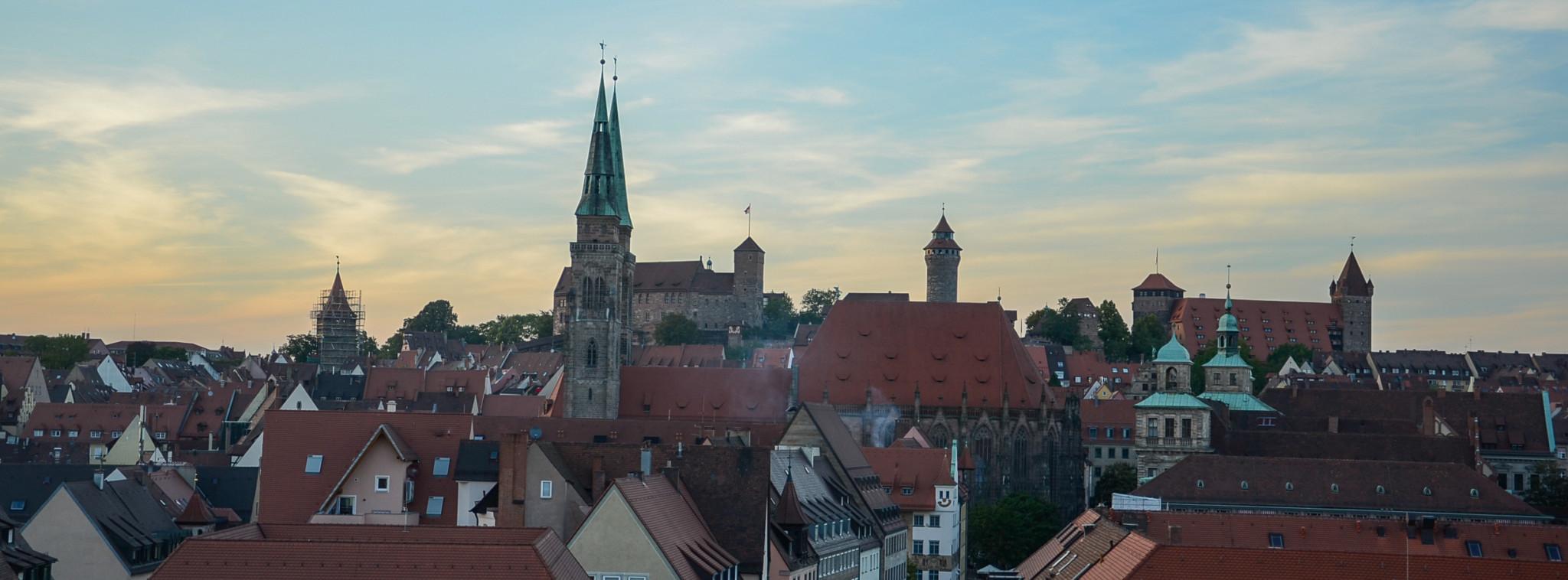 Ausblick auf Nürnberg